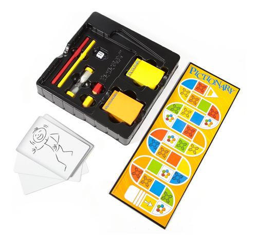 pictionary board, juego de mesa familiar