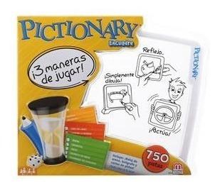 pictionary encuadre