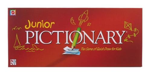 pictionary junior mattel juego de los dibujos rapidos ruibal