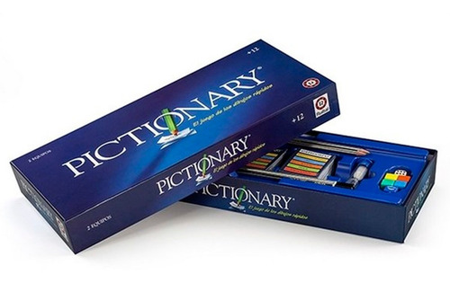 pictionary mattel original ruibal tv juego de mesa en cadia
