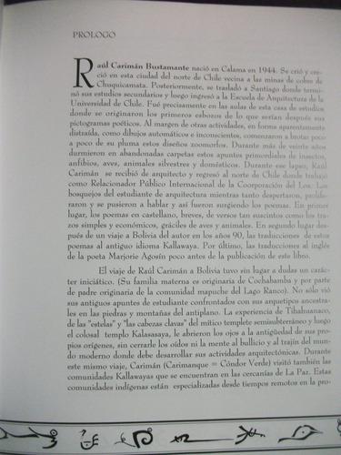 pictografías poéticas / raúl carimán