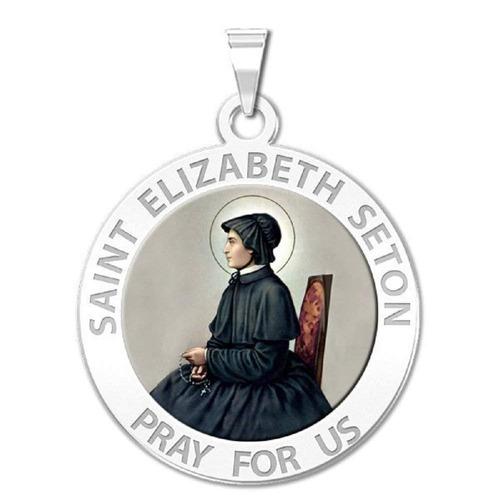 picturesongold com saint elizabeth seton medalla religios...