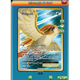 Pidgeot Ex Fa Evolutions Pokémon Tcg Online (virtual)