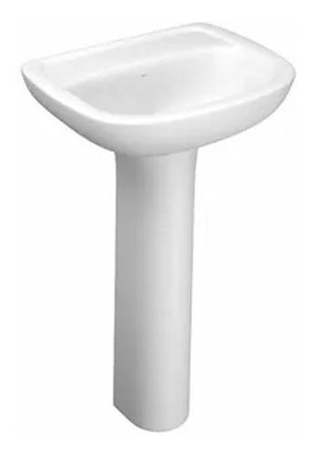 pie columna deca vogue plus sin bacha mueble baño loza losa