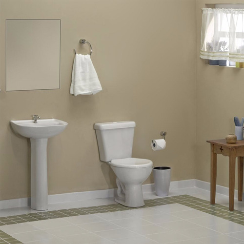 pie con lavatorio agujeros columna loza vanitory deca marajo