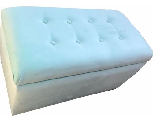 pie de cama banqueta tapizado a tu eleccion en cuotas s/int