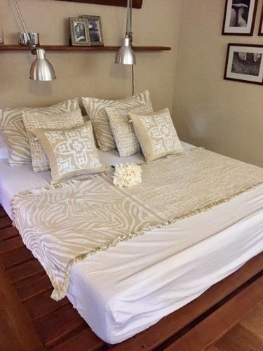 pie de cama linea gold 2 plazas