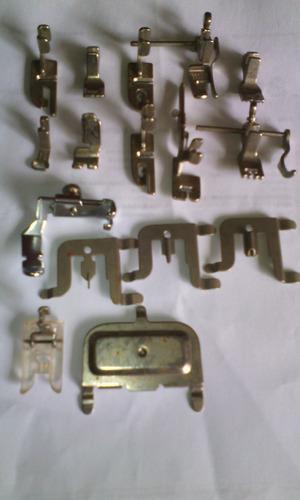 pie de costura sobrecargada maquina de coser pfaff 260 y 261