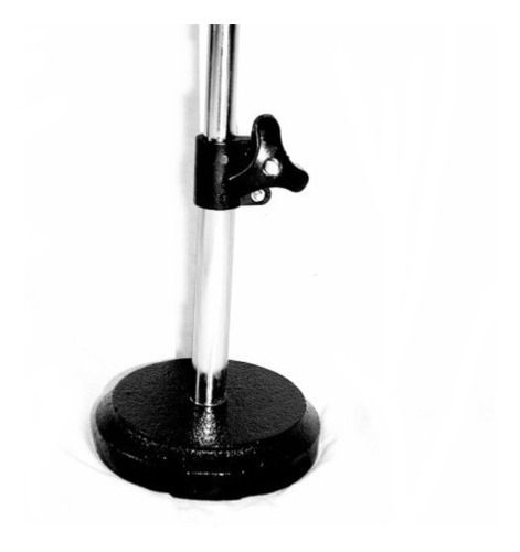 pie de micrófono de mesa jirafa base redonda pro stands