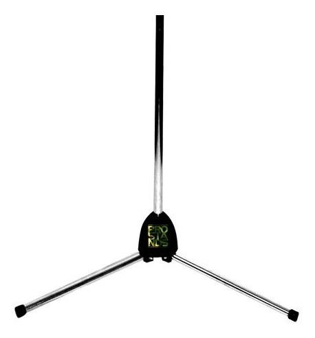 pie de microfono recto con funda soporte cromado pro stands