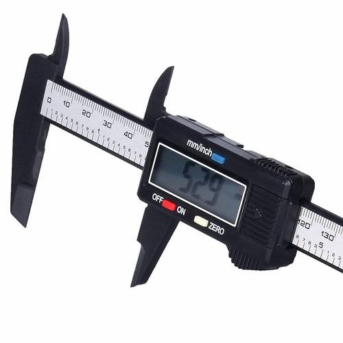 pie de rey calibrador digital vernier 15 cm 6 pul carbono