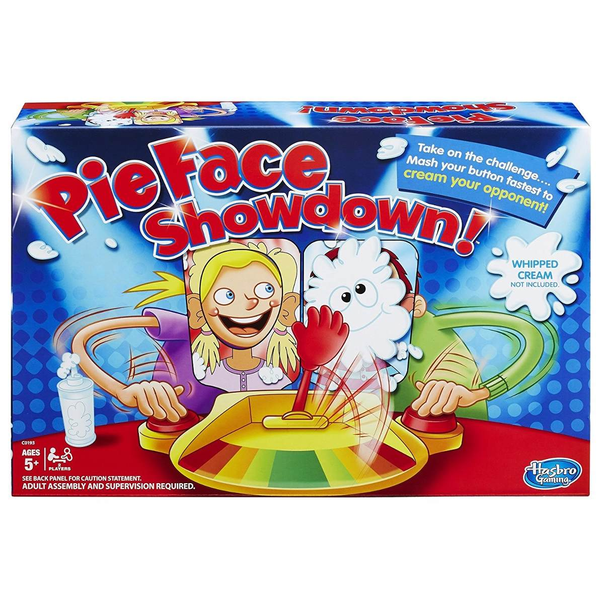 Pie Face Showdown Juego De Mesa Divertido 929 00 En Mercado Libre