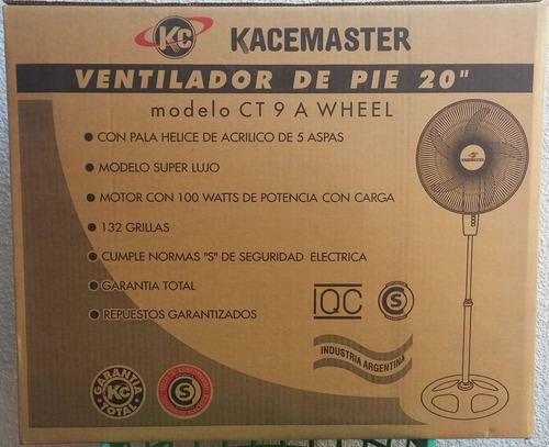 pie kacemaster ventilador