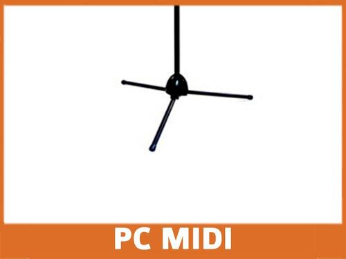 pie micrófono jirafa p/ condenser dinamico cuotas