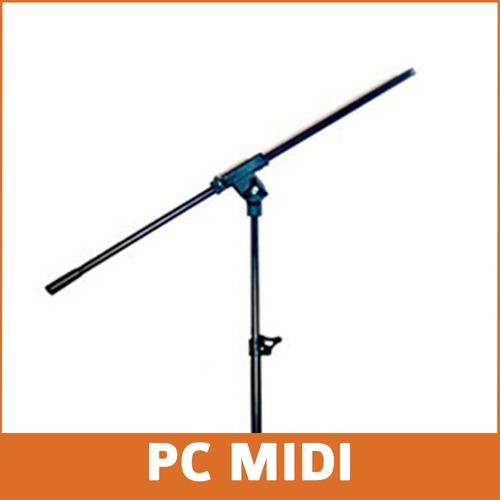 pie micrófono jirafa samson shure akg condenser dinamico
