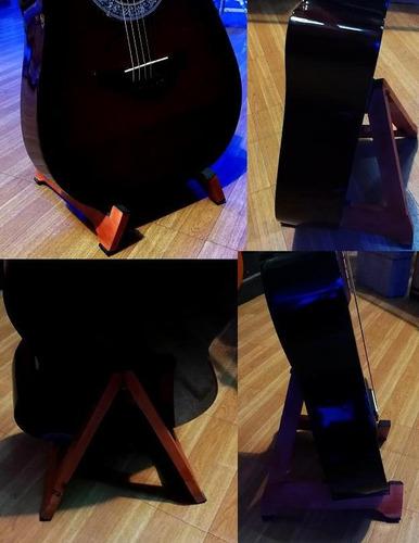 pie soporte  de guitarras plegable