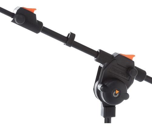 pie soporte para microfono bespeco msf10 profesional