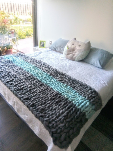 piecera 100% lana natural de oveja corriedale.