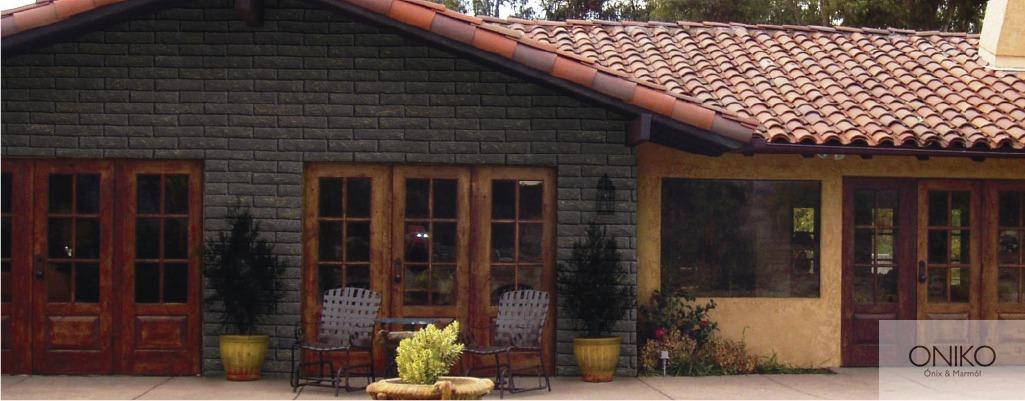 Piedra adobe muros fachadas recubrimientos - Recubrimientos de fachadas de casas ...