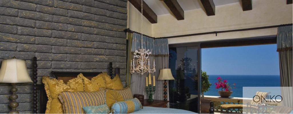 Piedra Adobe Muros Fachadas Recubrimientos 42000 En Mercado - Recubrimientos-fachadas