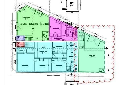piedra alta terreno 745m² ideal constructora estacionamiento