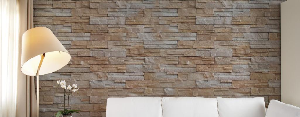 Piedra apilable monta a muros fachadas y recubrimientos for Piedra para muros interiores