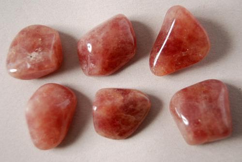 piedra aventurina roja rolada nro. 3