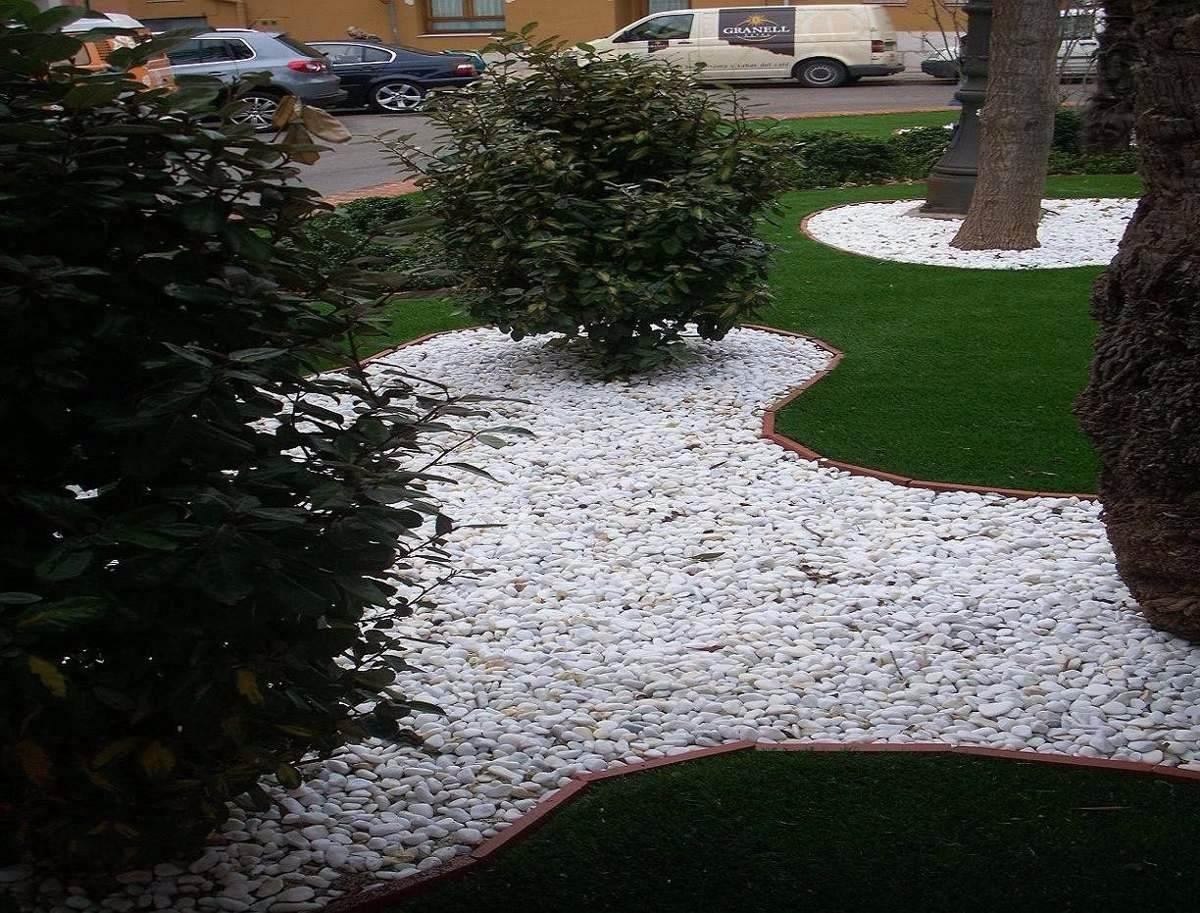 Piedra bola de r o en mercado libre for Cailloux blancs pour jardin