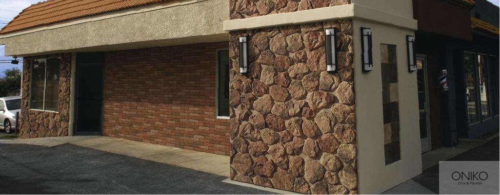 Piedra colorado ranch muros fachadas recubrimientos - Fachadas ventiladas de piedra ...
