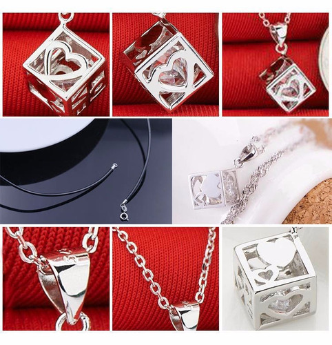 piedra cristal 6 caras+cadena de regalo fina