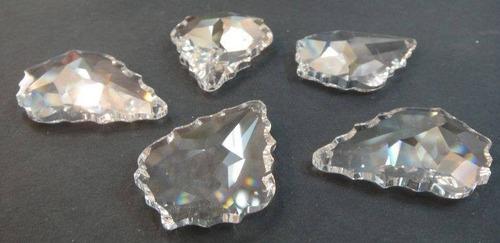 piedra cristal cortado para candil o cortina 3.7 cm de largo