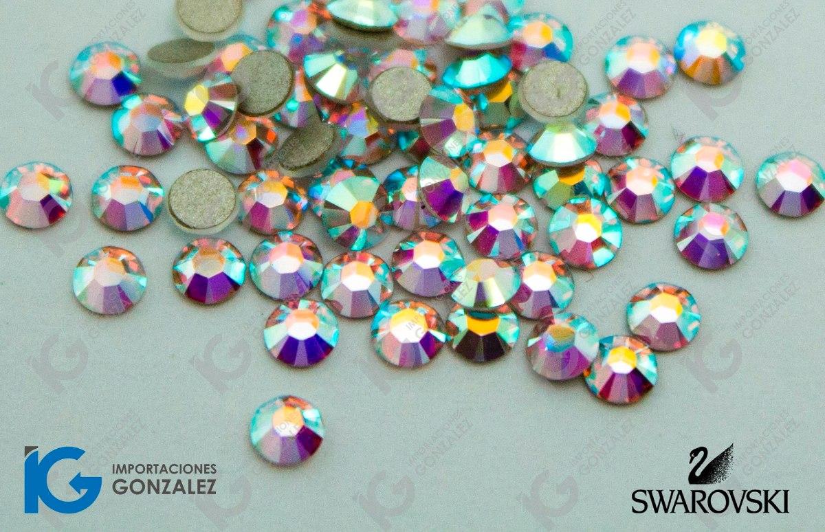 Piedra cristal swarovski u as tornasol ss7 paquete 100 for Piedras swarovski para unas