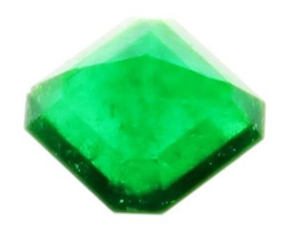 piedra de esmeralda genuina 1,73 cts. certificada colombia