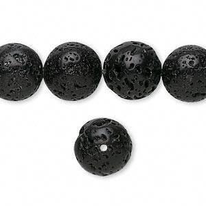 piedra de lava volcánica bisutería pulsera 8mm 1 tiras+envio