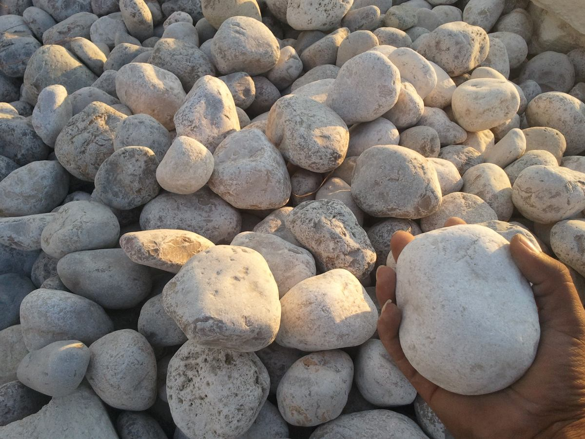 piedra de rio para decorar en mercado libre