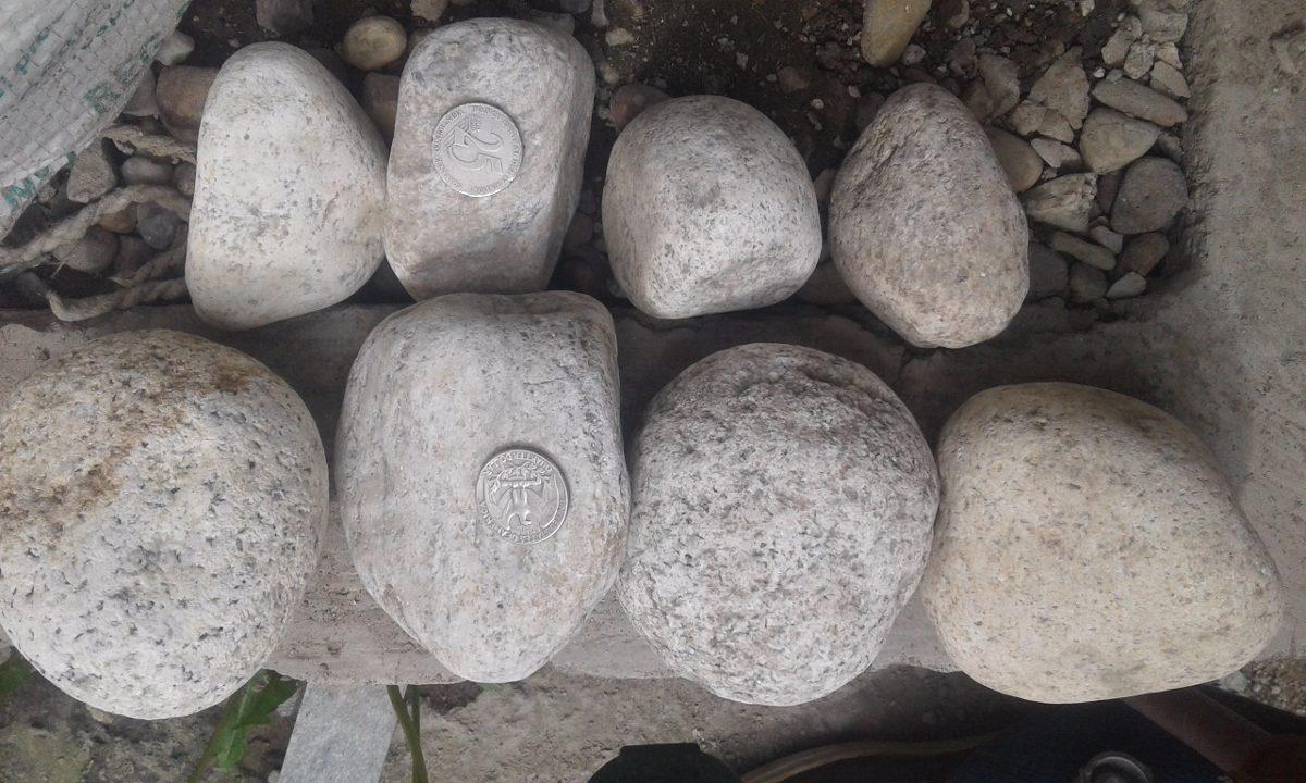 Piedra decorativa para jardin canto rodado blanca u s 15 - Piedra decorativa jardin ...
