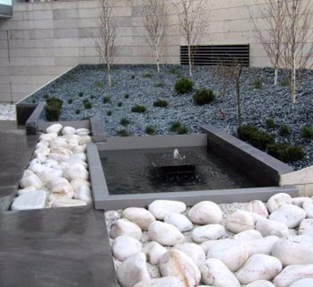 Piedra decorativa bola blanca de rio saco de 10 kilos - Piedra decorativa jardin ...