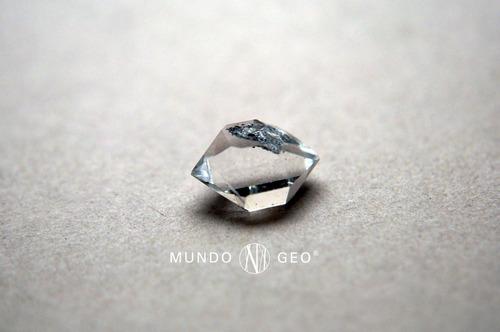 piedra diamante herkimer biterminado nro. 3