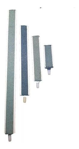 piedra difusora lineal para aireador 15cm  acuario peces