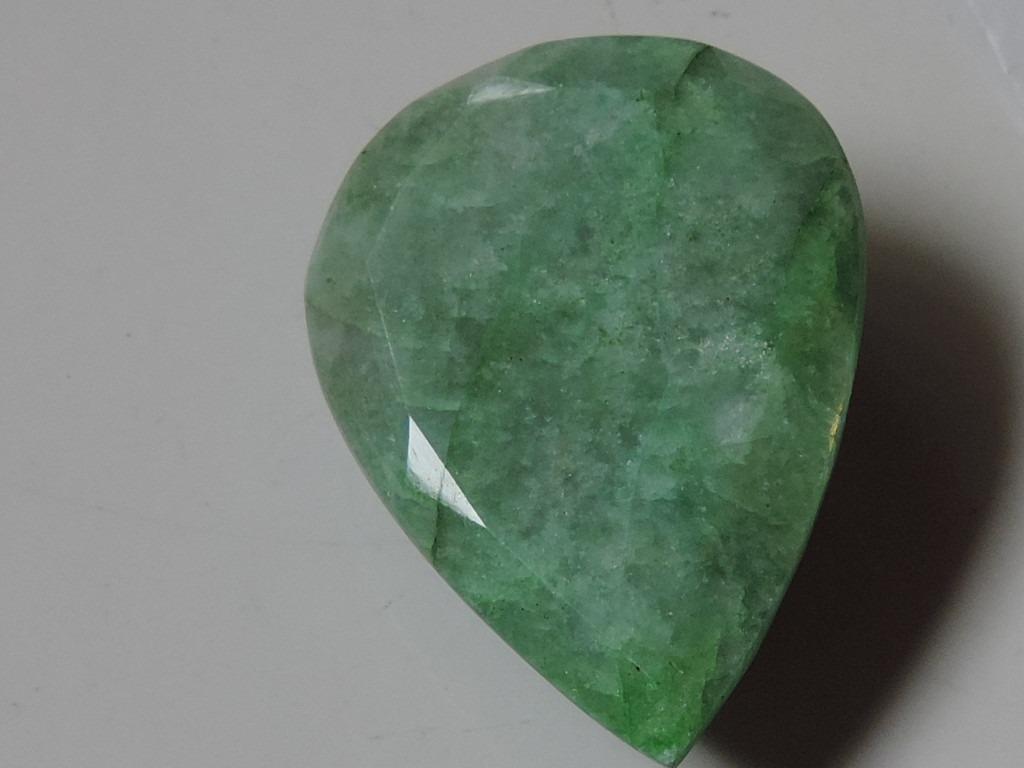 Piedra - Esmeralda Natural 98 Cts - $ 1,600.00 en Mercado Libre