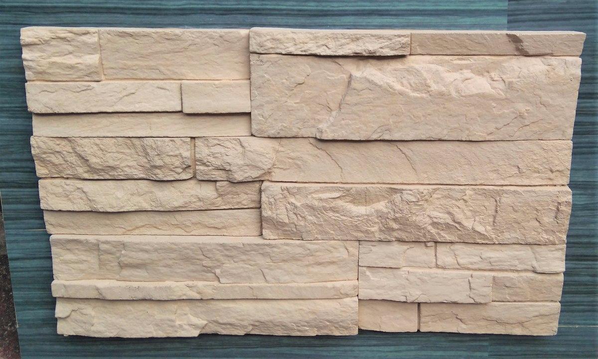 Piedra fachaleta laja decorativa acabados lujo for Piedra para muros interiores