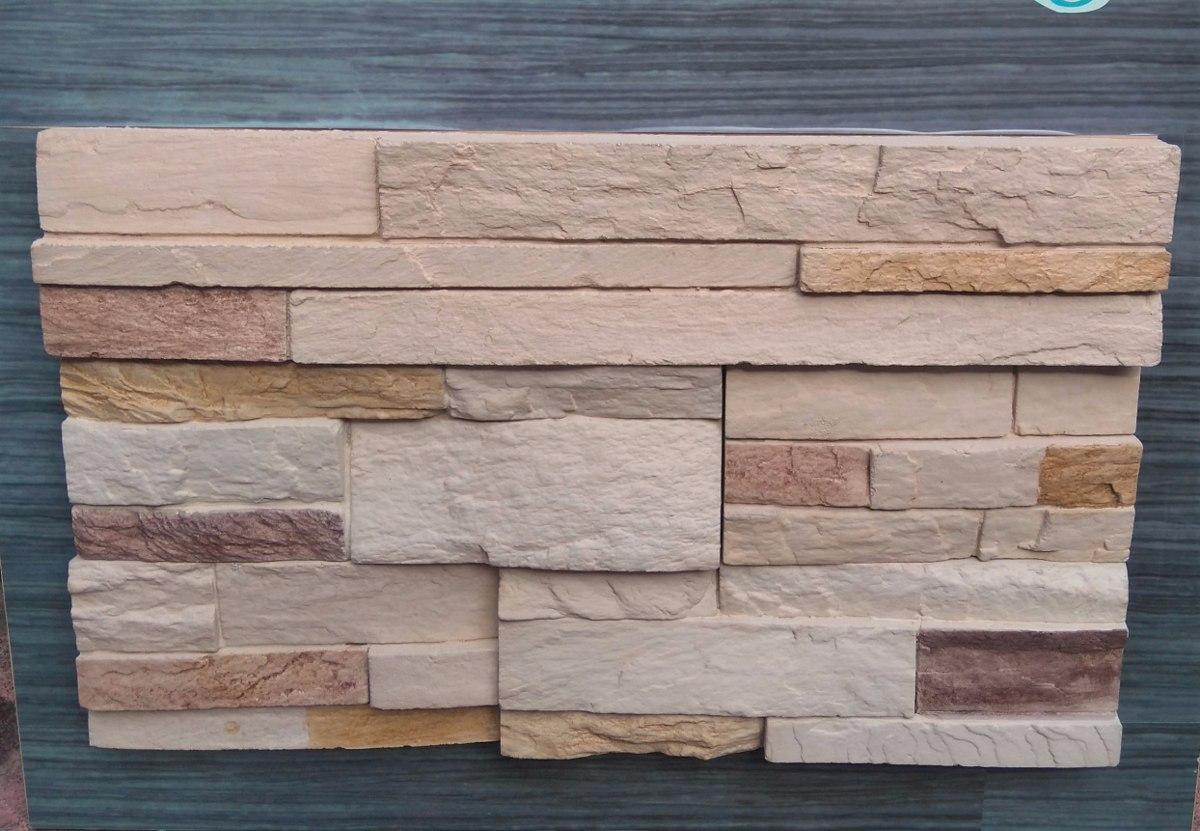 Piedra fachaleta laja decorativa acabados lujo - Pared de piedra interior ...