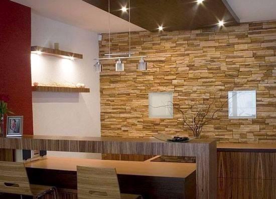 Piedra fachaleta para muros precio directo del fabricante for Piedra para muros interiores