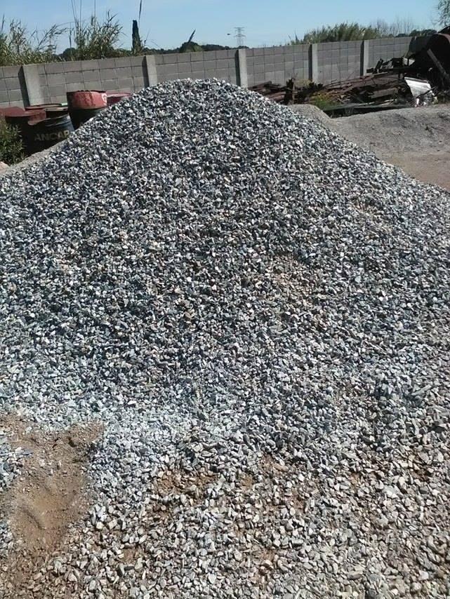Piedra gris de jard n 60 00 en mercado libre for Bolsa de piedra para jardin