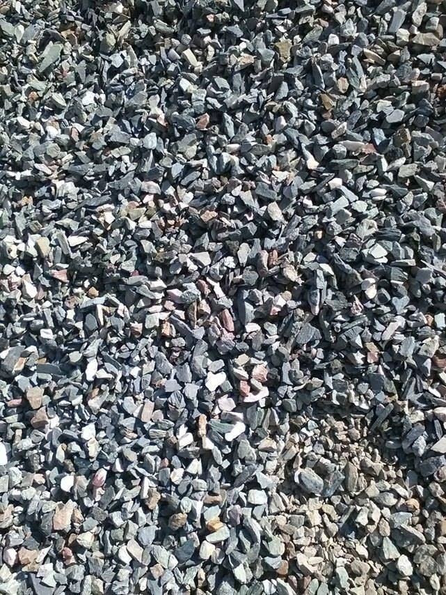piedra gris o piedra partida para jardines decoracion On gris piedra pared