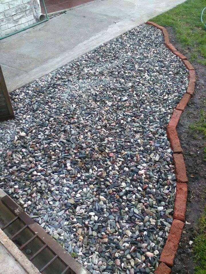 Piedra gris para jard n 60 00 en mercado libre for Piedras de jardin decorativas