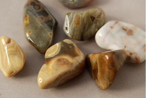 piedra jaspe océano rolado nro. 2