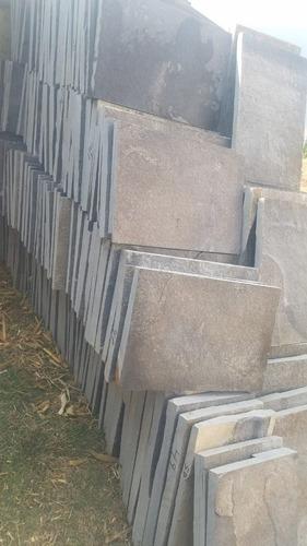 piedra laja arqueológica recortada en 40x60