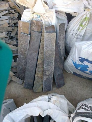 piedra laja arqueológica recortada en 5 x largos diferentes