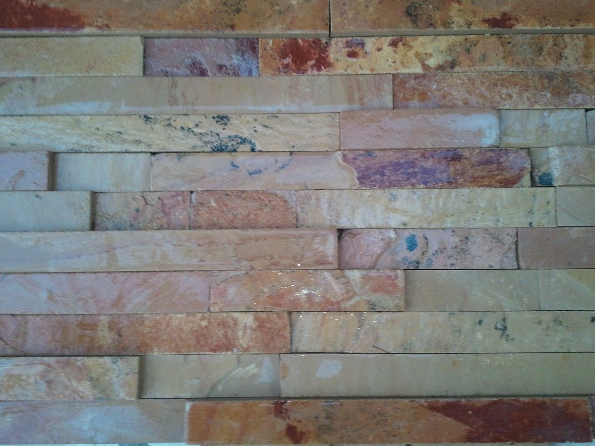 Piedra laja de cantera para fachada cascada salmon en mercado libre - Piedra para exterior ...